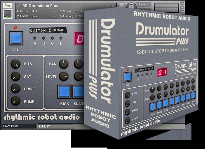 rhythmic robot drumulator plus ni community forum. Black Bedroom Furniture Sets. Home Design Ideas
