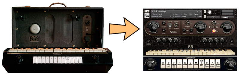 Turning vintage synthesizers and drum machines into Kontakt instruments