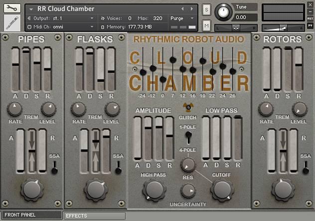 Cloud Chamber panel