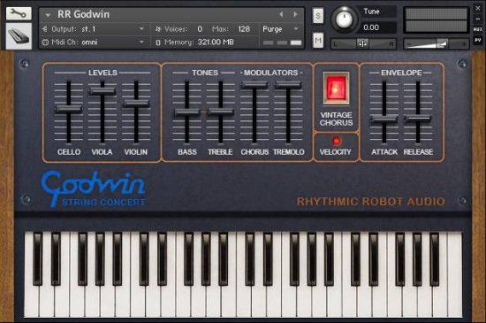 Strings 202 – Rhythmic Robot Audio