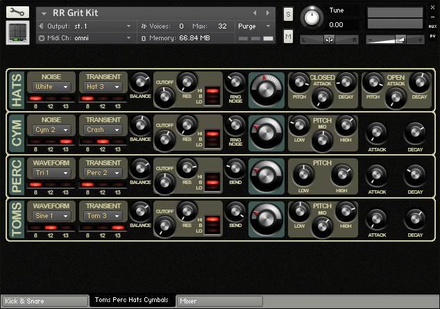 Grit Kit rear panel