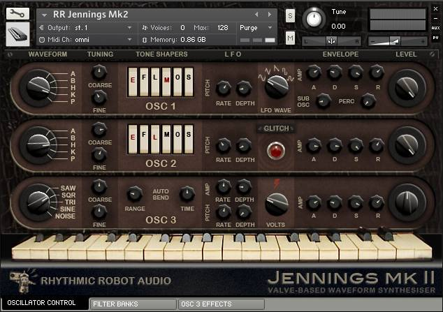 Jennings Mk2 panel