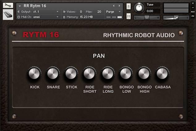 Rytm16 rear panel