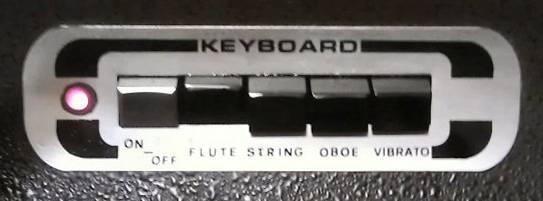 Skyline keyboard section