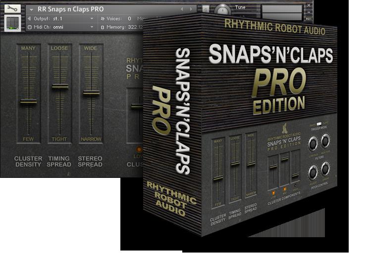 Snaps N Claps PRO panelbox