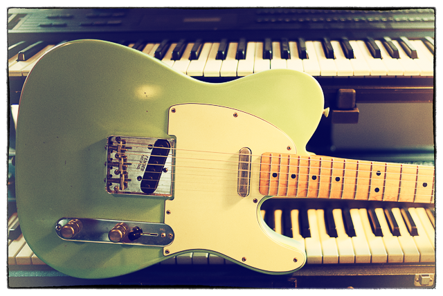 Telecaster used to create the Uproar distortion-based Kontakt instrument