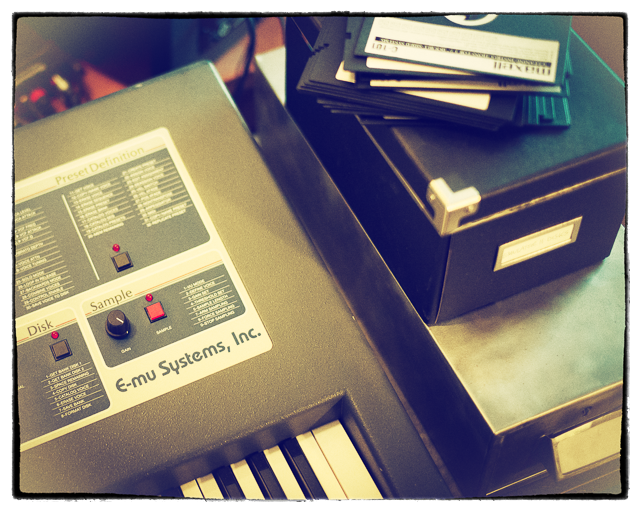 The original EII used big 5 inch floppy disks. Our Kontakt version sits straight in your DAW with not a disk in sight!