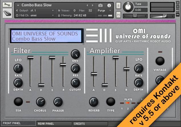 Emulator III Kontakt instrument front
