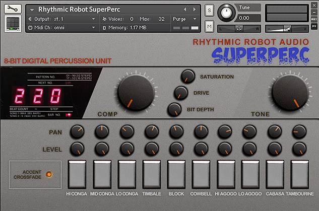 SuperPerc Kontakt Instrument