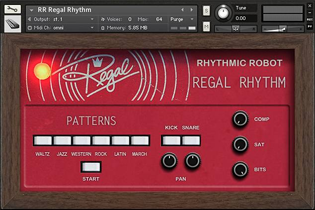 Regal Rhythm Kontakt instrument