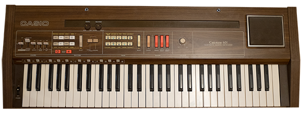 Casio 601 Kontakt Instrument