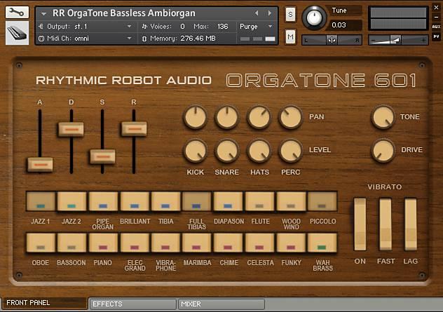 Orgatone 601 Kontakt Instrument