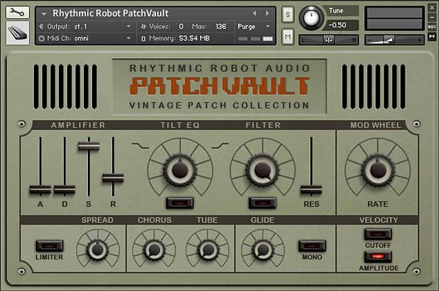 PatchVault Kontakt instrument