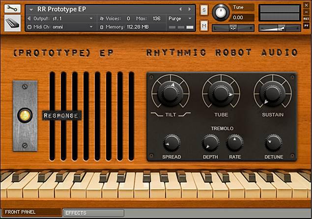 Prototype EP Kontakt instrument