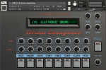 CX5 drum machine Kontakt instrument