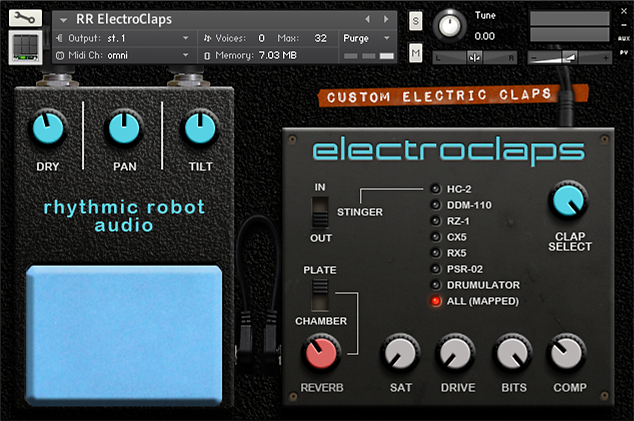 ElectroClaps Kontakt instrument
