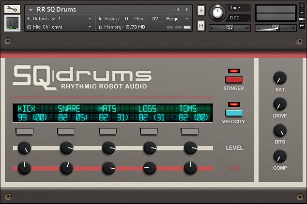 SQ Drums Kontakt instrument