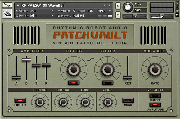 PatchVault ESQ1 Kontakt instrument